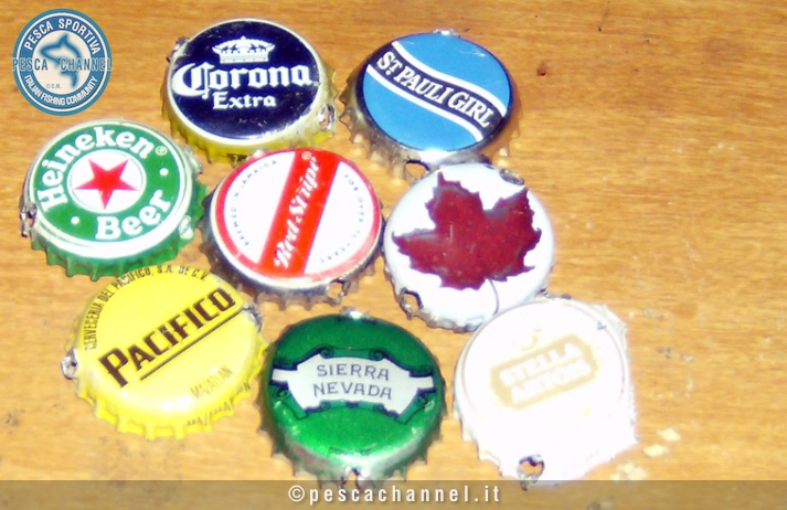 ondulanti tappi birra