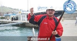 pesca al cefalo con galleggiante