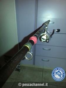 riparazione canna da pesca spinning 3