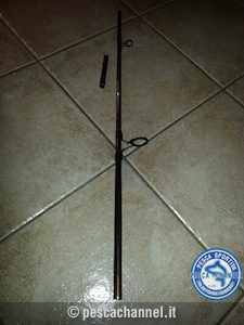 riparazione canna da pesca spinning 6